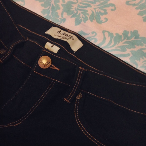 60% off D. JEANS Denim - High-waisted skinny jeans/jeggings from ...