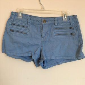 Forever 21 Pants - Forever 21 light blue jean shorts
