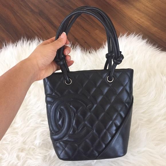 264b100811a6 CHANEL Handbags - Chanel Cambon Tote black (small)