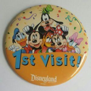 Disneyland Resort 1st Visit Pin