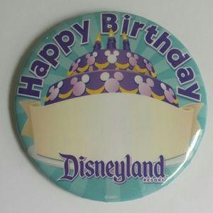 """Happy Birthday"" Disneyland Resort Pin"