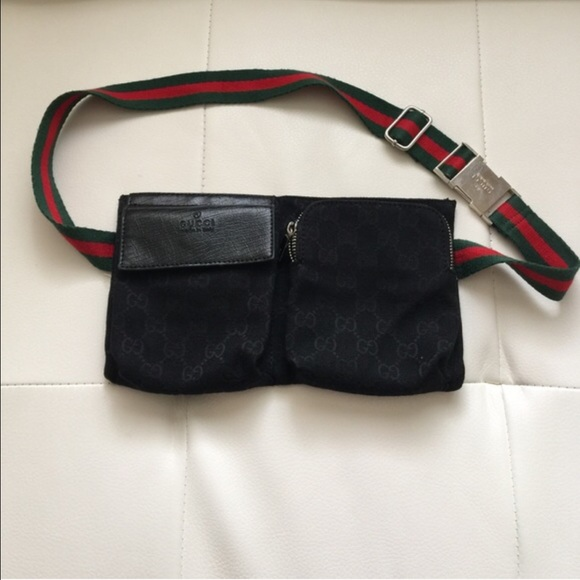 e754a312ca1 Gucci Handbags - Bundle Deal Brown and Black Gucci Fanny Packs