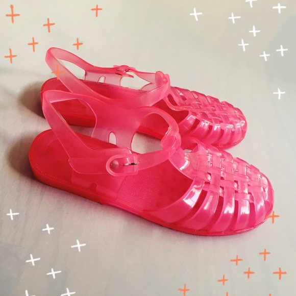 Urban Outfitters Urban Outfitters Pink Jelly Shoes From