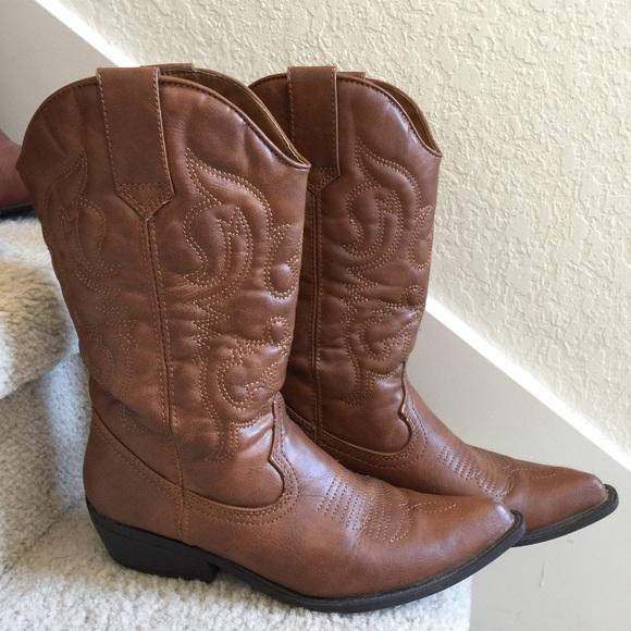 Madden Girl Cowboy Boots Sz65