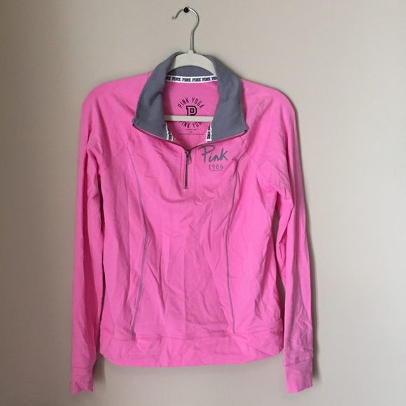 71% off PINK Victoria's Secret Jackets & Blazers - PINK Yoga ...