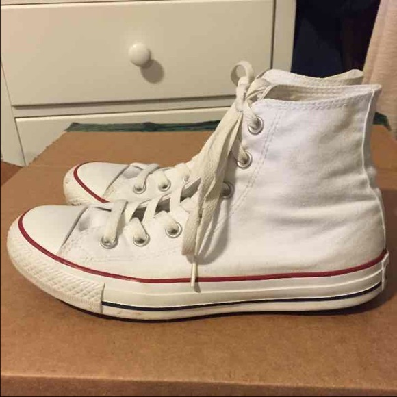 womens converse high tops size 8
