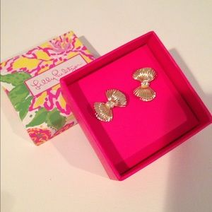 Lilly Pulitzer Bow Earrings