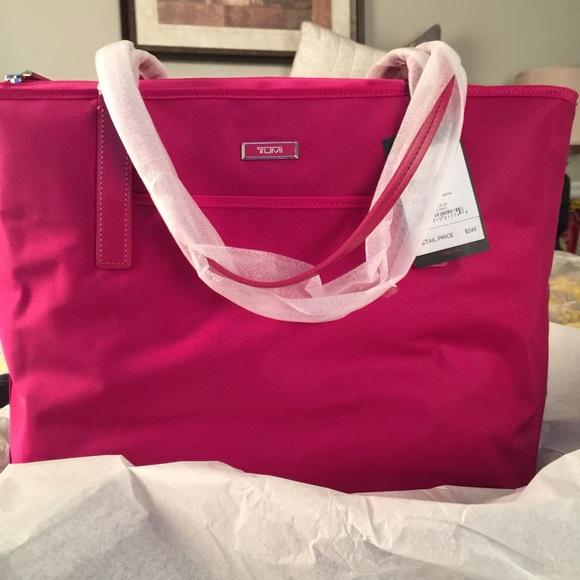 Tumi Pink handbag. SALE. 🎈🎈🎈 983179f8682fa