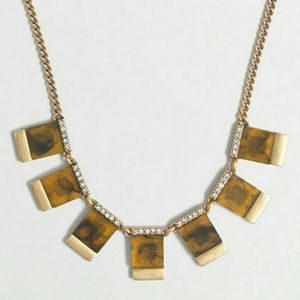 TORTOISE SQUARES NECKLACE