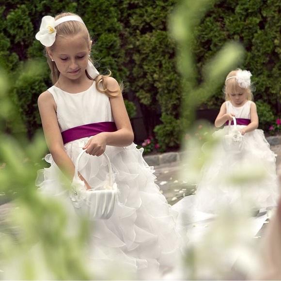Davids Bridal Flower Girl Dress Wg1267 : Off david s bridal dresses skirts