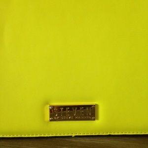 455b00e75 Steven by Steve Madden Bags - • Steve Madden Neon Yellow Cambridge Satchel •