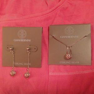giani bernini Necklace and Earrings