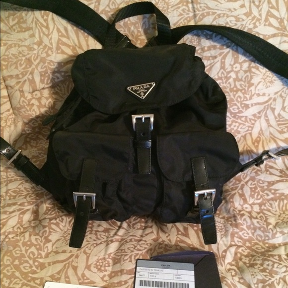 e941694efa429b Prada Bags | Vela Backpack Almost Brand New | Poshmark