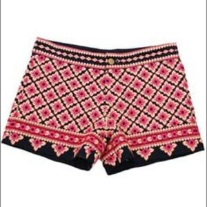 THML Pants - THML Embroidered Shorts