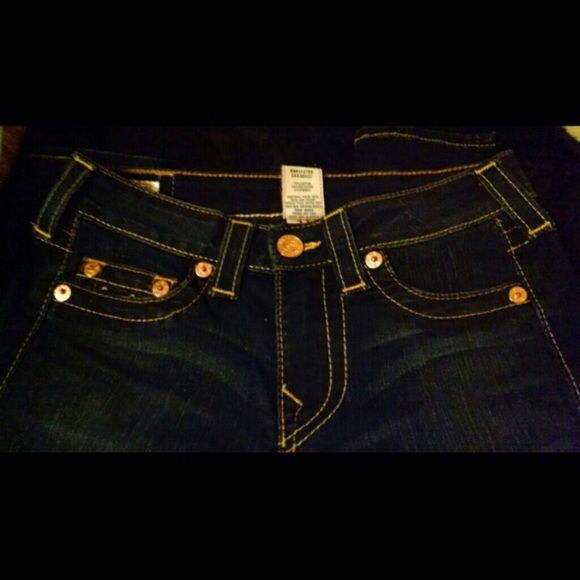 True Religion Jeans - True Religion Dark Wash Sz 27
