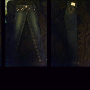 True Religion Jeans - True Religion Dark Wash Sz 27