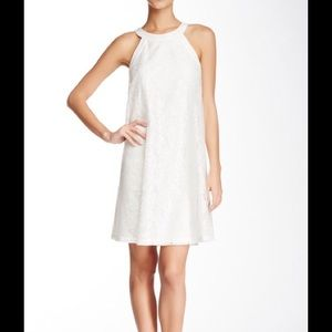 Betsey Johnson Lace baby doll dress in ivory