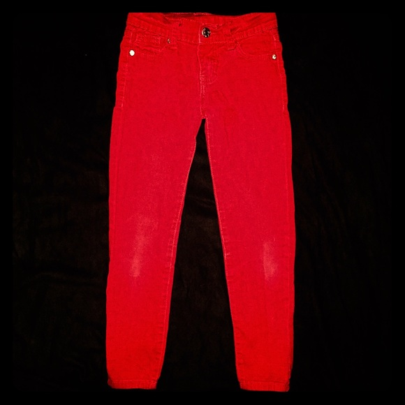 ⚽ 🐢⚓️Girls red skinny jeans 6 from Brooke's closet on Poshmark