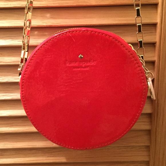 kate spade Handbags - Kate Spade Round Red Cross-Body purse a748aedff131e