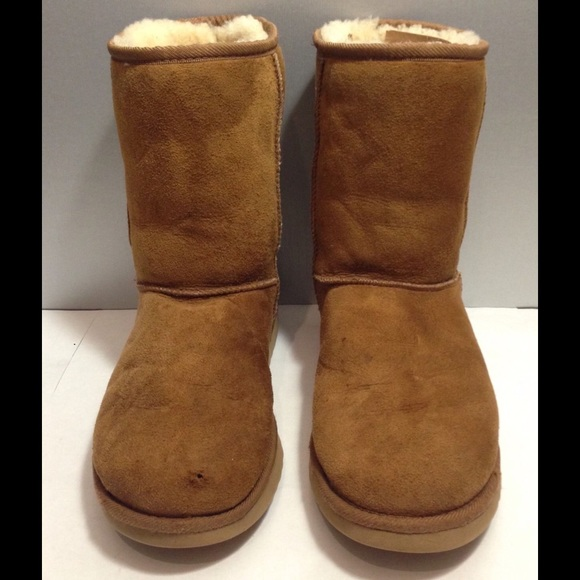 Light brown suede ugg boots