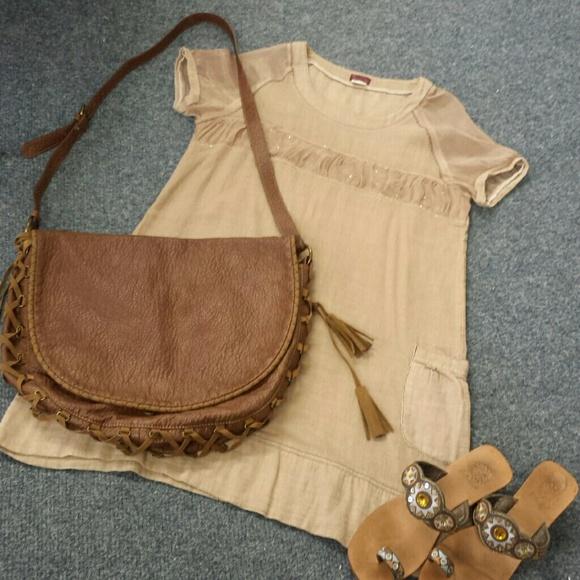 c38427f1af Zara TRF Boho crossbody bag Large