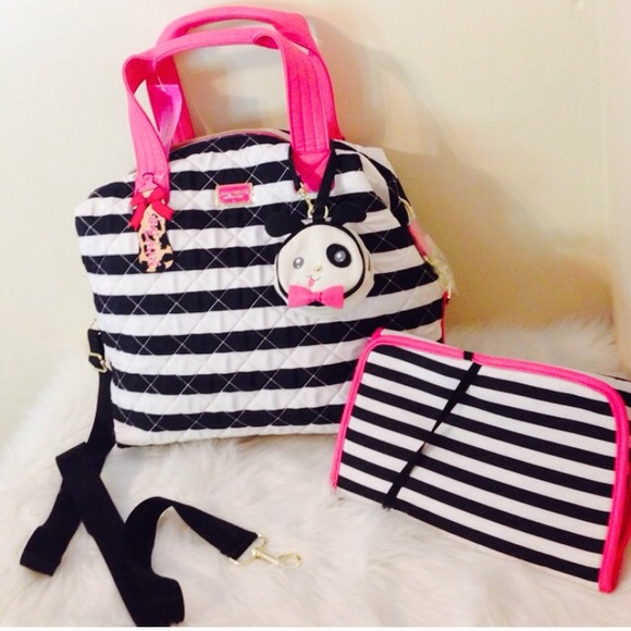 Betsey Johnson Bags Diaper Bag Poshmark