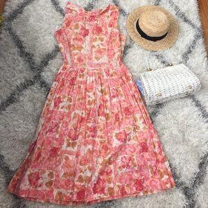 Host Pick 10/18 Vintage 50's floral dress