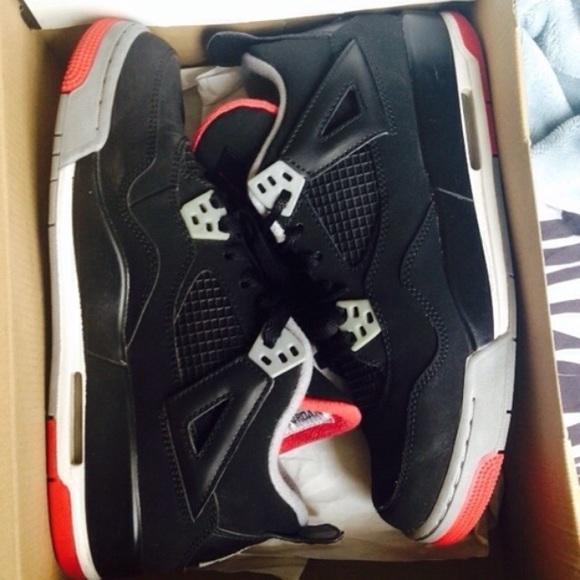 Jordan Shoes   Jordan Retro Bred 4s 65y