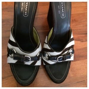 Coach Wedges - Size 9