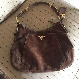 prada purses prices - Prada - Prada Suede Hobo Handbag from   trisha  64a502cca0