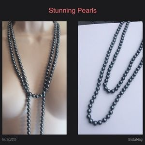 Grace Jewelry - NWT Stunning Long Pearl Necklace