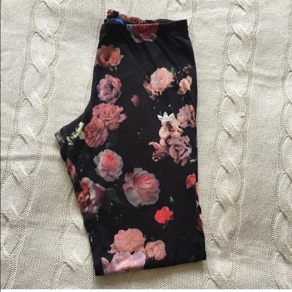 0077b0a7999b9a Adidas Pants | Original Rita Ora Trefoil Rose Leggings | Poshmark
