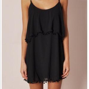 Black Pom Pom dress