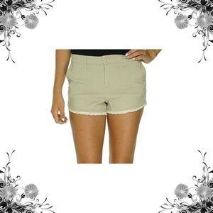 Dollhouse Pants - MUST BUNDLE Dollhouse Lace Khaki Sienna Shorts