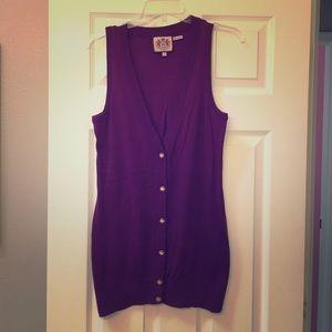 Juicy Couture sweater vest