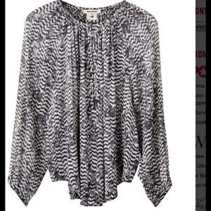 Isabel Marant pour H&M Tops - Pure silk Chiffon Blouse