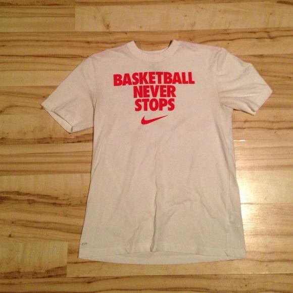 4659207e Nike Shirts | Mens Basketball Never Stops Tshirt | Poshmark