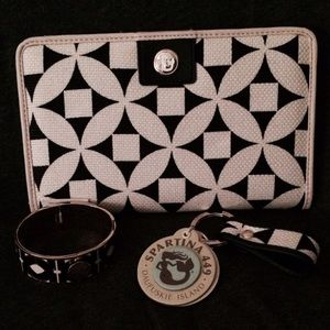 Spartina 449 Clutches & Wallets - AUTHENTIC SPARTINA 449 WALLET KEYCHAIN & BANGLE