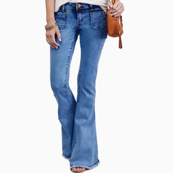 f29fa940de9d Tobi Bell Bottom Jeans. M 55a9cb7cd57041695f007cbf