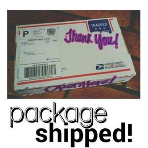 Shipped 7/17/15