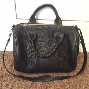 Alexander Wang Rocco satchel Black w/ AntiqueBrass