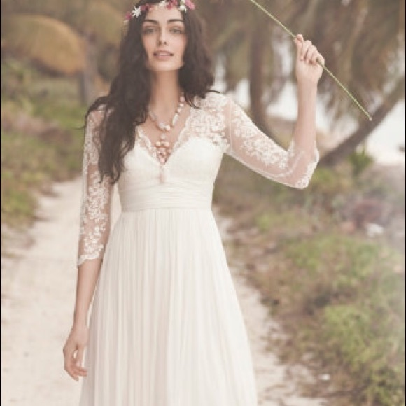 Anthropologie sold bhldn omari dress anthropologie boho for Anthropologie beholden wedding dress