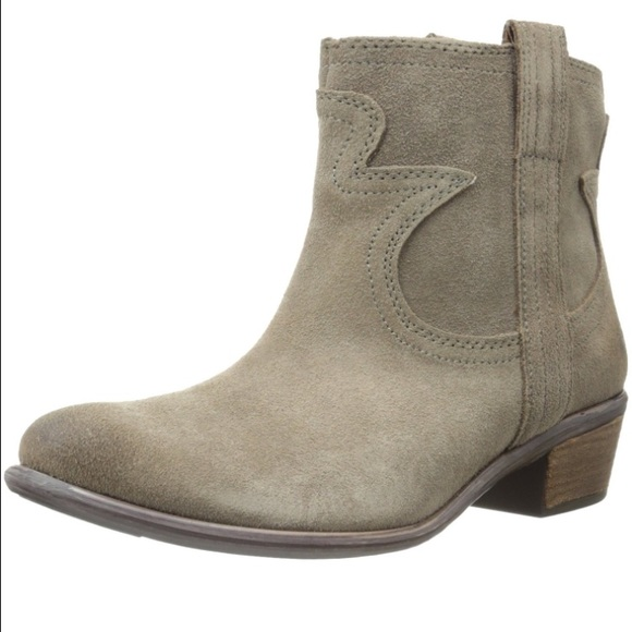 66% off Lucky Brand Boots - Lucky Brand suede ankle boots women&39s