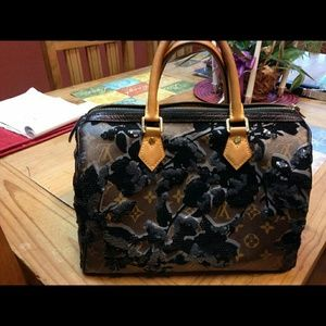 Louis vuitton fleur speedy limited edition