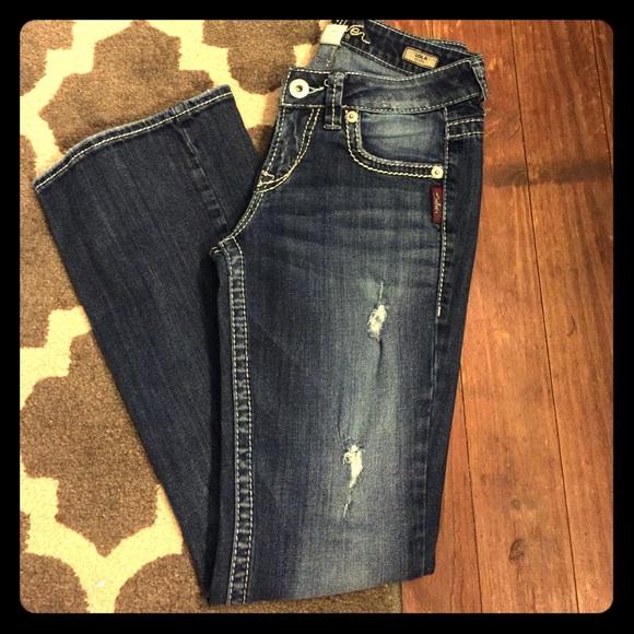 Silver Lola Jeans Ye Jean