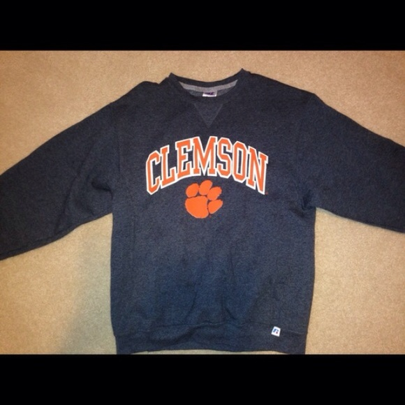 70% off Sweaters - Clemson Crew Neck from Haley's closet on Poshmark