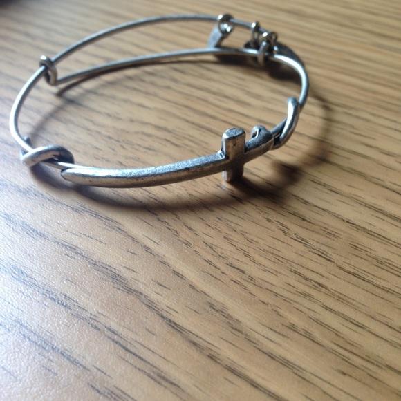 4109f17ca4831 Alex and Ani Cross Wrap bracelet