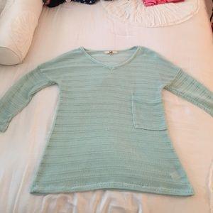 Ya Los Angeles mint green sweater