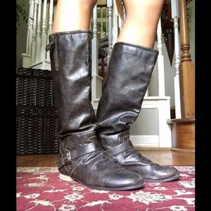 Boots - Tall Riding Boots