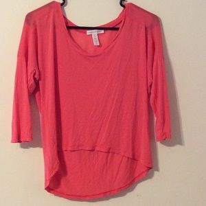 Ambiance Apparel Tops - Pretty coral blouse